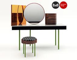 Barcelona Design Dressing table  3D Model