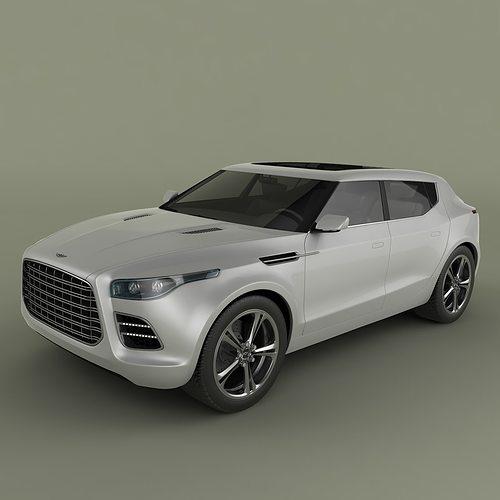 Aston Martin Lagonda: Aston Martin Lagonda Crossover 3D