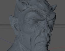 devilhead 3d printable model