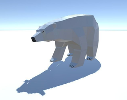 3D asset Polar Bear