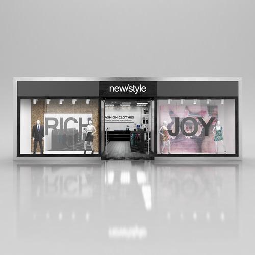 Shop Window3D model