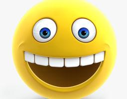 3d model smiley face