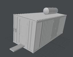 3D asset Construction Container