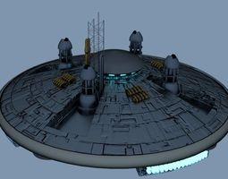 Ufo ship 3D Model