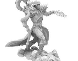 Mag dragon 3D Model