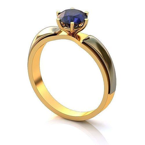 luxurious ring 3d model 3dm 1
