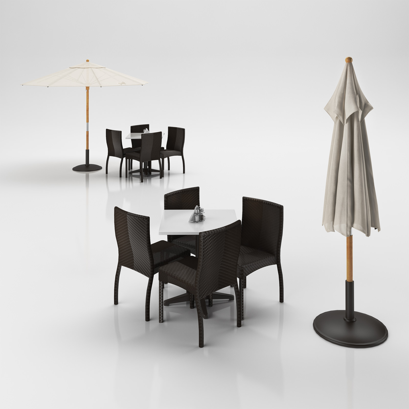 Filing Cabinet Outdoor Umbrella Table