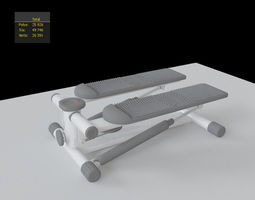 stepper 3D model