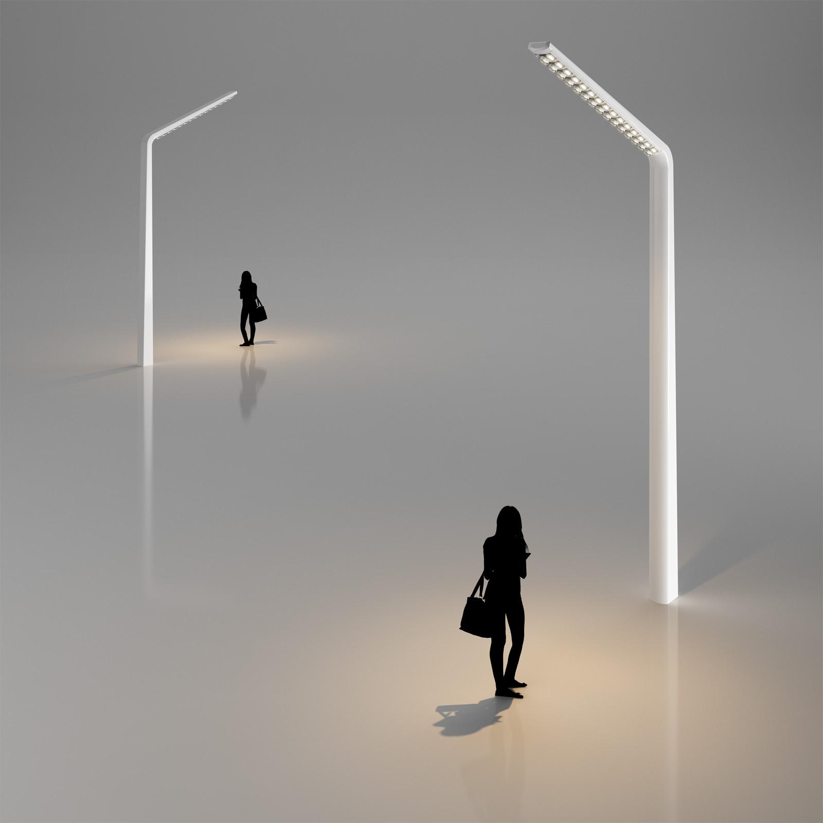 Modern Street Lamp 3D Model x obj 3ds c4d CGTrader