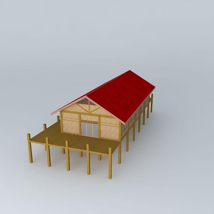 Model beach houses