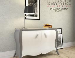 Credenza La Maison : 3d models by zeme cgtrader