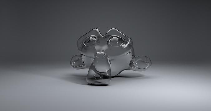 glass material 3d model obj 3ds fbx blend dae mtl 1