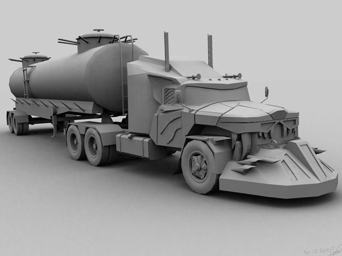 3D model Mad Max monster from cinema   CGTrader