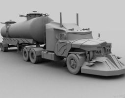 Mad Max monster from cinema 3D Model