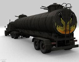 mad max monstr  truck  3D Model