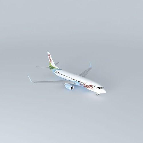 Air Vanuatu Boeing 737 800 Free 3d Model Max Obj 3ds Fbx Stl Dae
