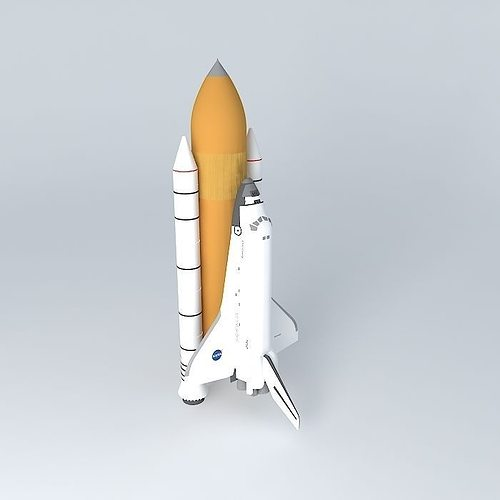 space shuttle discovery 3d model max obj 3ds fbx stl dae 1