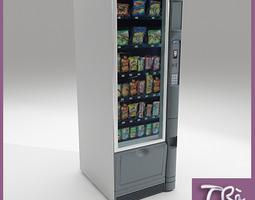 3D model SNACKS MACHINE