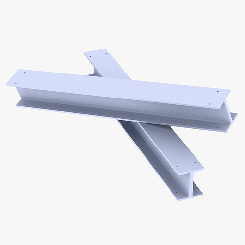 construction beam  3d model low-poly max obj 3ds fbx dxf mtl 1