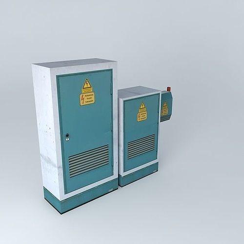 electro box 3d model max obj mtl 3ds fbx stl dae 1