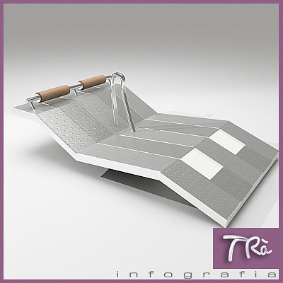 water bed pool jacuzzi bed 3d model max 1