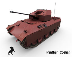 FlakPanther Coelian 3D Model