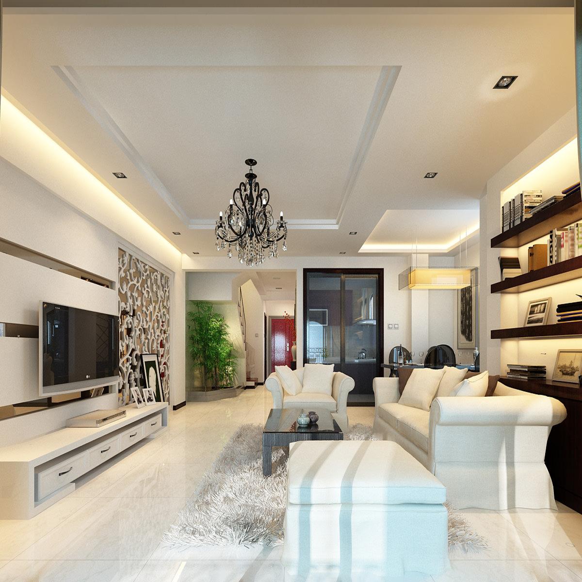 Home interior 3d model max Home 3d model