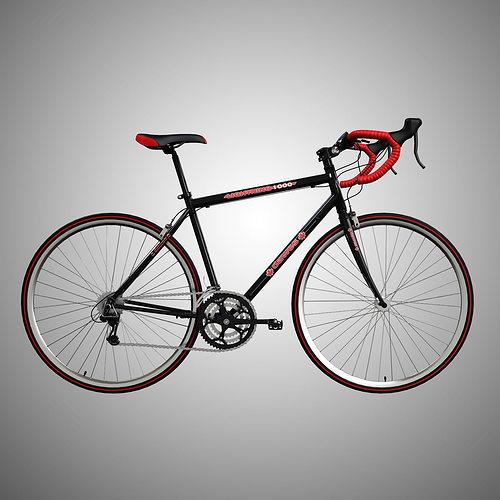 road bike 3d model max obj 3ds 1