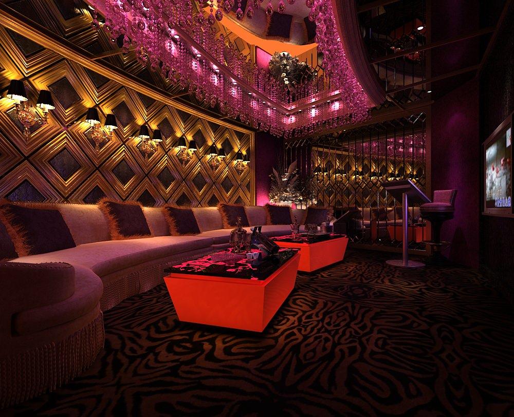 3D model Bar lounge Interior | CGTrader