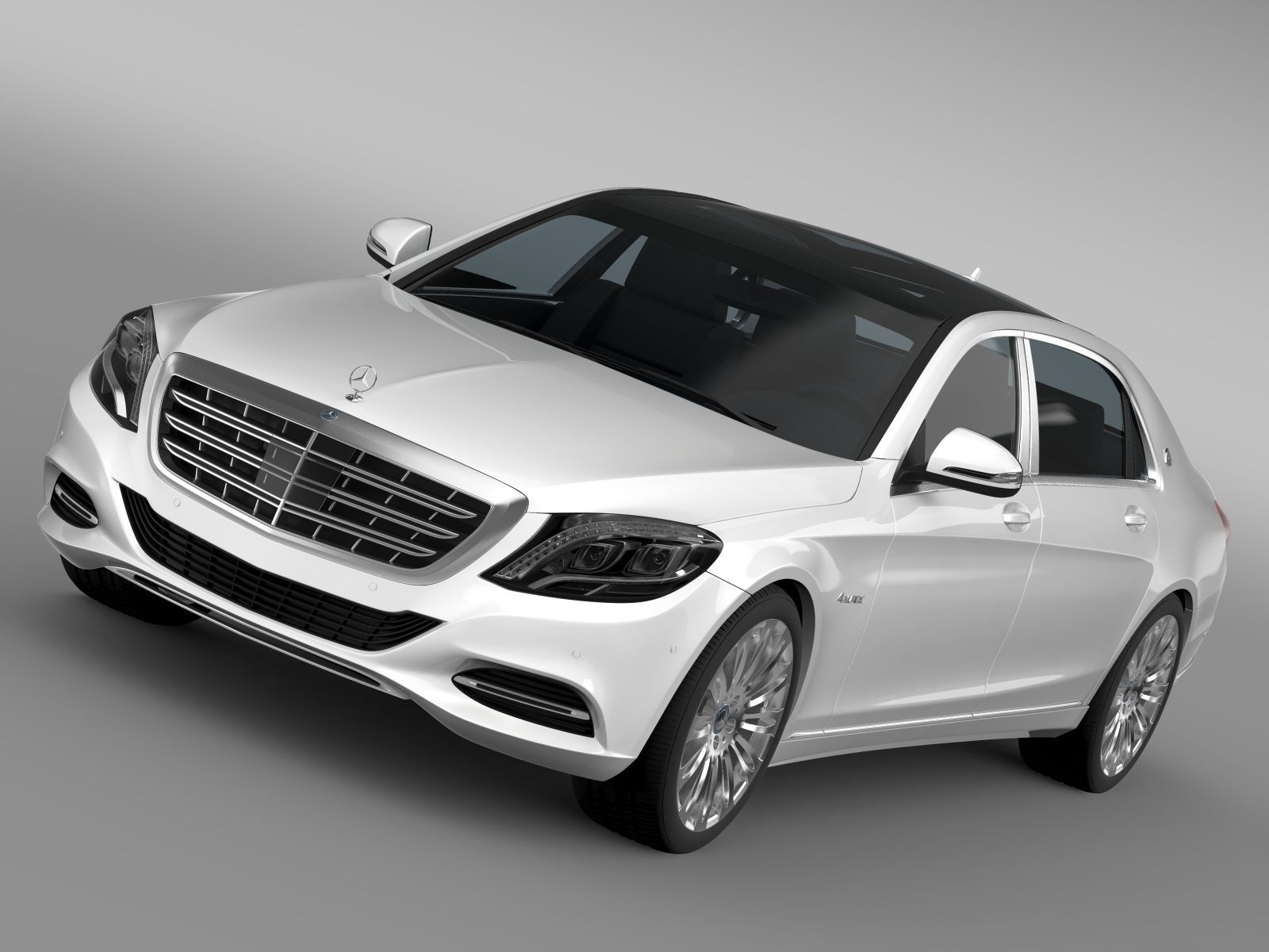 Mercedes Maybach S500 4MATIC X222 2016