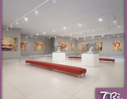 EXHIBITION HALL 3D