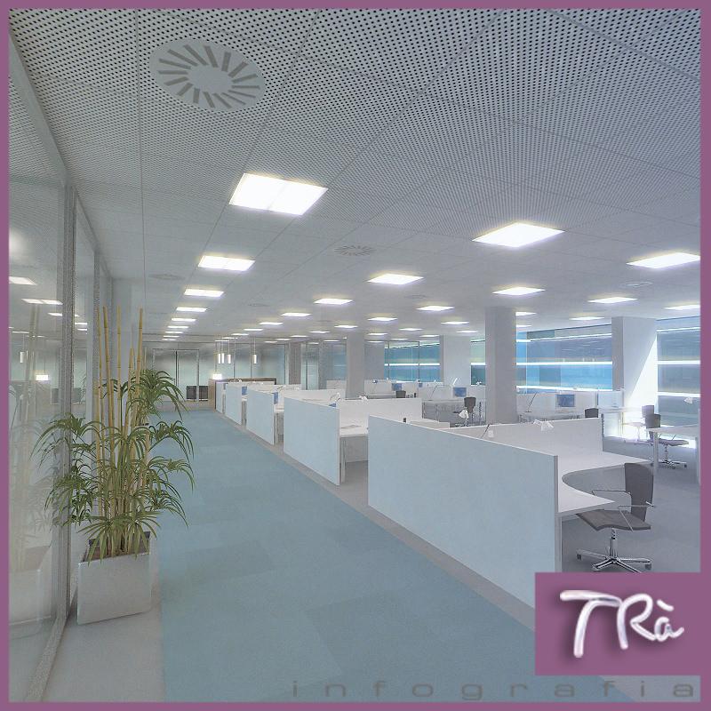 Office interior 3d model max tga for Office design 3d max
