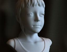 """3d printable sculpture """"Sarah"""" STL OBJ 3D Model"""