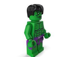 3d model the hulk