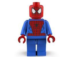 3D Spiderman Lego
