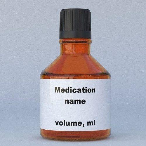 medicine bottle 3d model obj fbx blend dae mtl 1