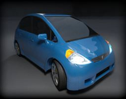 3D model Car Concept Hatchback Google AAA