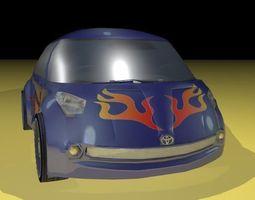 3D model Toyota H2GO Google car AAA
