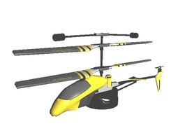 RC Helicopter AAA 3D model