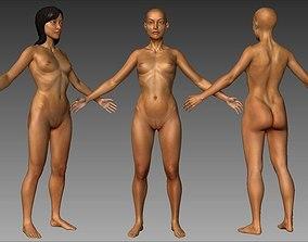 3D model Japanese Dancer AAA