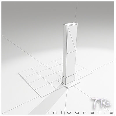 beacon light rama 3d model max 2