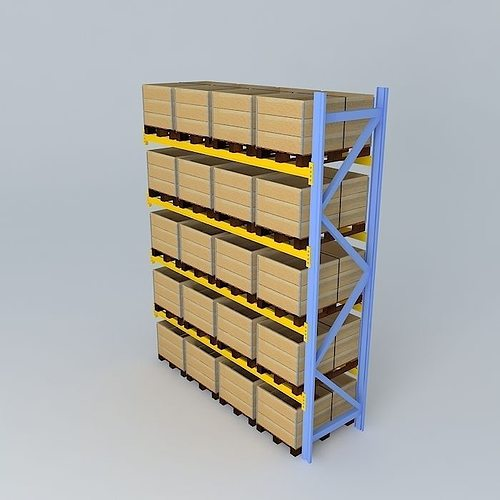 3D racking construction | CGTrader
