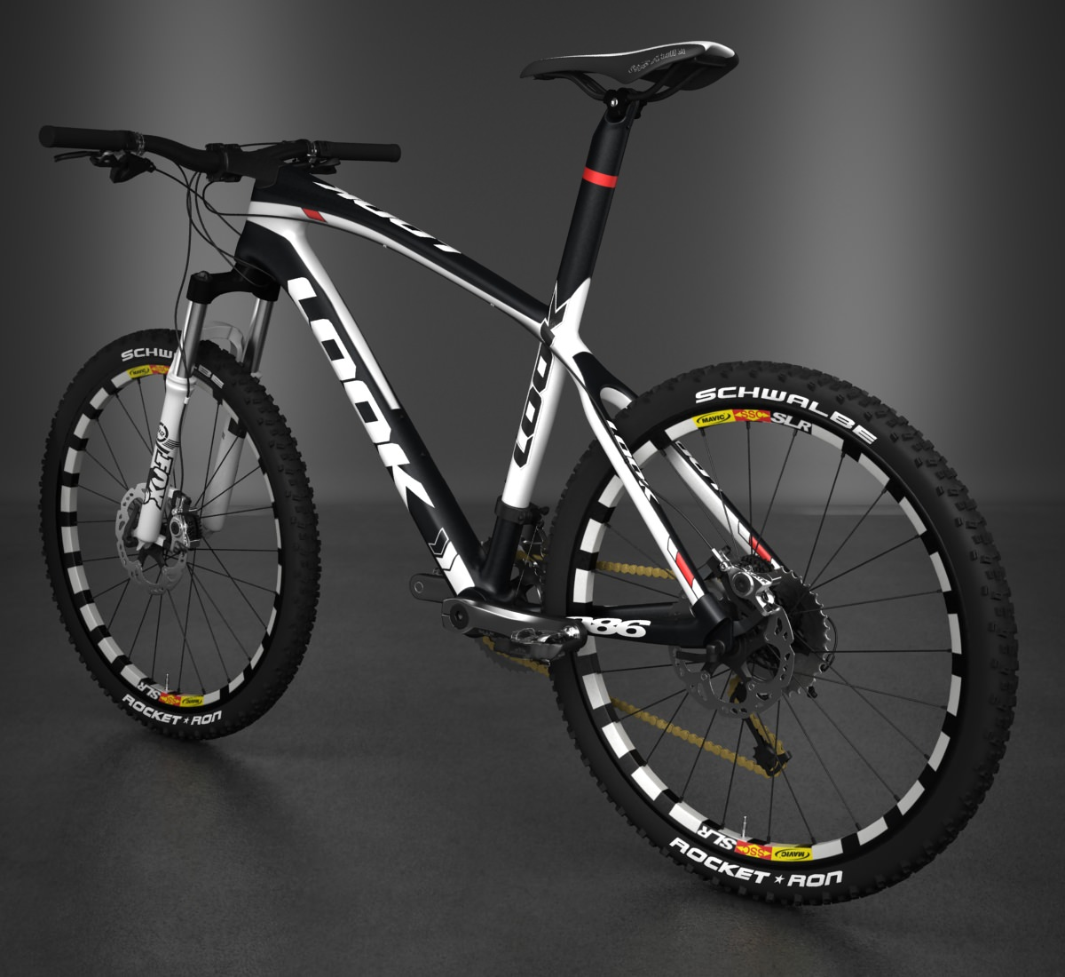 look 986 mountain bike 3D Models - CGTrader.com