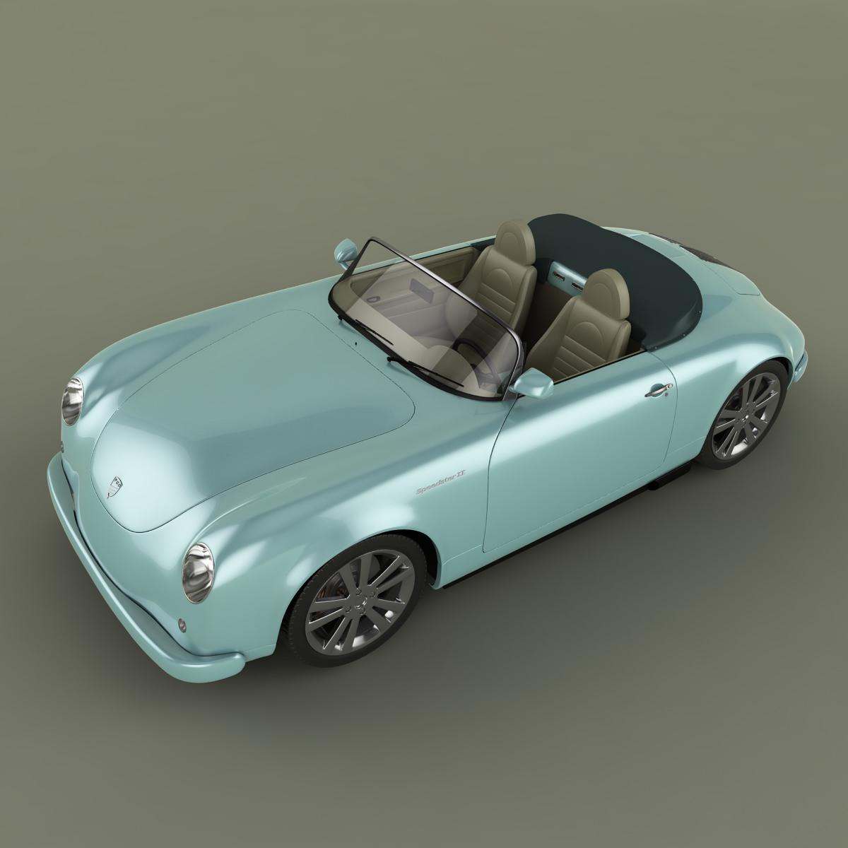 Neo Classic Cars 3D Model .max .obj .3ds