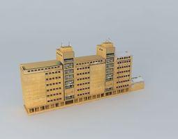 3D model Sisak Harbor storage