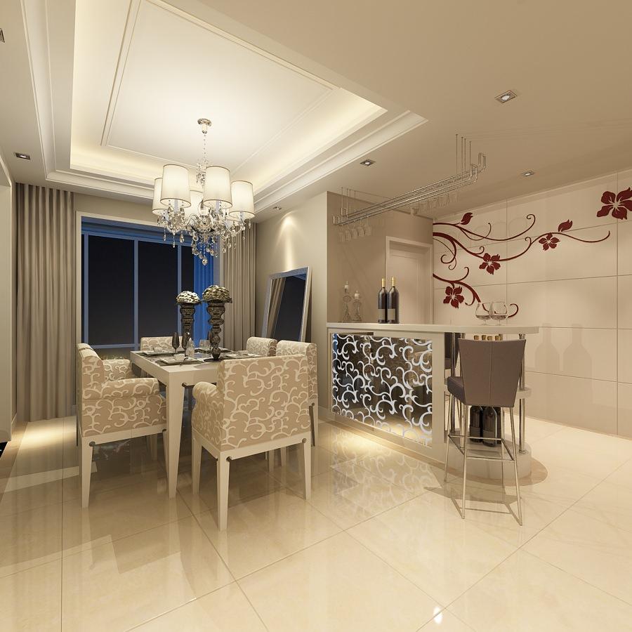 Modern flat interior photoreal 3d model max Flat interior images