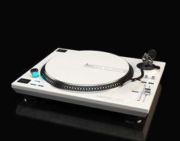 Reloop RP-7000 DJ Turntable 3D Model