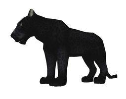 Bagara Panther AAA 3D model