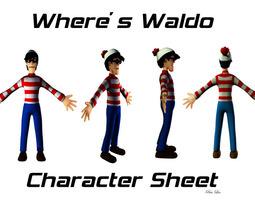 Waldo AAA 3D asset