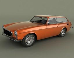 Volvo P 1800 ES 3D Model